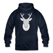 "Laden Sie das Bild in den Galerie-Viewer, Unisex Hoodie ""Deer"" - Navy"