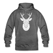 "Laden Sie das Bild in den Galerie-Viewer, Unisex Hoodie ""Deer"" - Anthrazit"