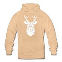 "Laden Sie das Bild in den Galerie-Viewer, Unisex Hoodie ""Deer"" - Beige"