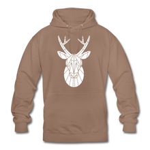 "Laden Sie das Bild in den Galerie-Viewer, Unisex Hoodie ""Deer"" - Mokka"