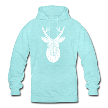 "Laden Sie das Bild in den Galerie-Viewer, Unisex Hoodie ""Deer"" - surferblau"