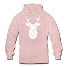 "Laden Sie das Bild in den Galerie-Viewer, Unisex Hoodie ""Deer"" - surferpink"