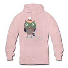 "Laden Sie das Bild in den Galerie-Viewer, Unisex Hoodie ""Eule"" - surferpink"