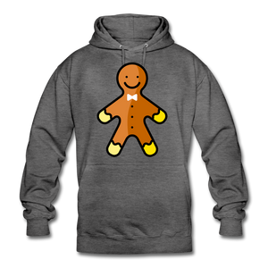 "Unisex Hoodie ""Gingerbread"" - Anthrazit"