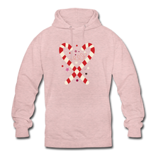 "Laden Sie das Bild in den Galerie-Viewer, Unisex Hoodie ""Zuckerstange"" - surferpink"
