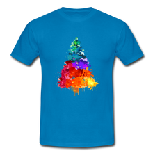 "Laden Sie das Bild in den Galerie-Viewer, T-Shirt ""Tannenbaum"" - Royalblau"
