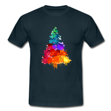 "Laden Sie das Bild in den Galerie-Viewer, T-Shirt ""Tannenbaum"" - Navy"