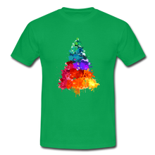 "Laden Sie das Bild in den Galerie-Viewer, T-Shirt ""Tannenbaum"" - Kelly Green"