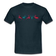 "Laden Sie das Bild in den Galerie-Viewer, T-Shirt ""Deer"" - Navy"