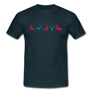 "T-Shirt ""Deer"" - Navy"