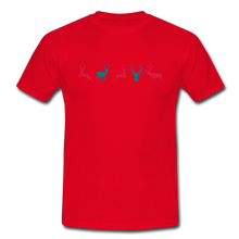 "Laden Sie das Bild in den Galerie-Viewer, T-Shirt ""Deer"" - Rot"