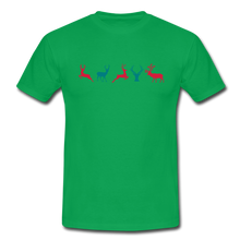 "Laden Sie das Bild in den Galerie-Viewer, T-Shirt ""Deer"" - Kelly Green"