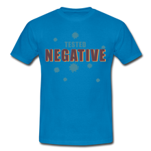 "Laden Sie das Bild in den Galerie-Viewer, T-Shirt ""Tested Negative"" - Royalblau"