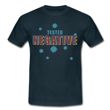"Laden Sie das Bild in den Galerie-Viewer, T-Shirt ""Tested Negative"" - Navy"