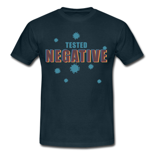 "T-Shirt ""Tested Negative"" - Navy"