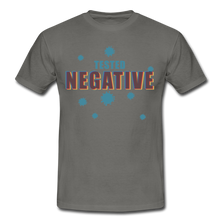 "Laden Sie das Bild in den Galerie-Viewer, T-Shirt ""Tested Negative"" - Graphite"