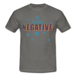 "T-Shirt ""Tested Negative"" - Graphite"