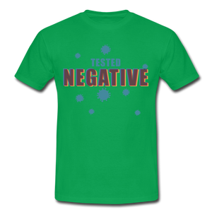 "T-Shirt ""Tested Negative"" - Kelly Green"