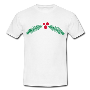 "T-Shirt ""Christmas"" - Weiß"