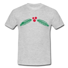 "Laden Sie das Bild in den Galerie-Viewer, T-Shirt ""Christmas"" - Grau meliert"