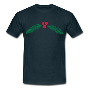 "T-Shirt ""Christmas"" - Navy"