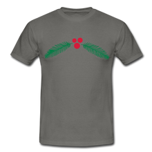 "Laden Sie das Bild in den Galerie-Viewer, T-Shirt ""Christmas"" - Graphite"