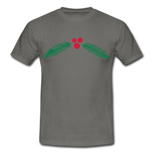 "T-Shirt ""Christmas"" - Graphite"
