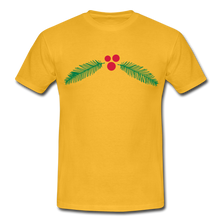 "Laden Sie das Bild in den Galerie-Viewer, T-Shirt ""Christmas"" - Gelb"
