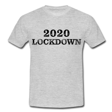 "Laden Sie das Bild in den Galerie-Viewer, T-Shirt ""Lockdown"" - Grau meliert"