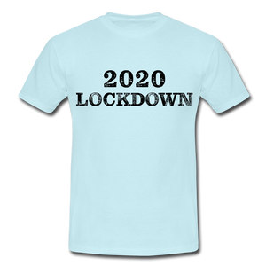 "T-Shirt ""Lockdown"" - Sky"