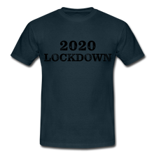 "Laden Sie das Bild in den Galerie-Viewer, T-Shirt ""Lockdown"" - Navy"