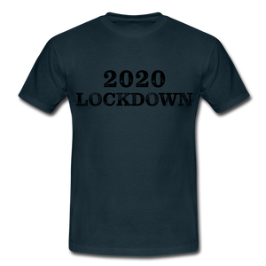 "T-Shirt ""Lockdown"" - Navy"