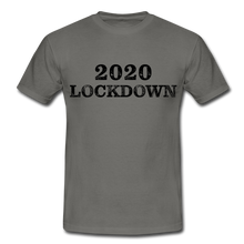 "Laden Sie das Bild in den Galerie-Viewer, T-Shirt ""Lockdown"" - Graphite"