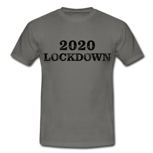 "T-Shirt ""Lockdown"" - Graphite"
