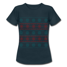 "Laden Sie das Bild in den Galerie-Viewer, T-Shirt ""Christmas"" - Navy"