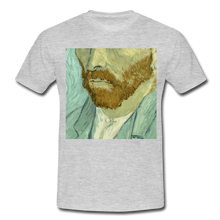 "Laden Sie das Bild in den Galerie-Viewer, T-Shirt ""van G."" - Grau meliert"