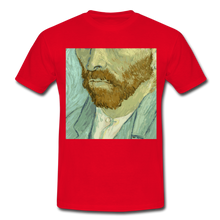 "Laden Sie das Bild in den Galerie-Viewer, T-Shirt ""van G."" - Rot"