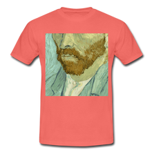 "Laden Sie das Bild in den Galerie-Viewer, T-Shirt ""van G."" - Koralle"