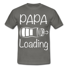 "Laden Sie das Bild in den Galerie-Viewer, T-Shirt ""Papa Loading"" - Graphite"