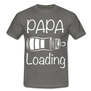 "T-Shirt ""Papa Loading"" - Graphite"