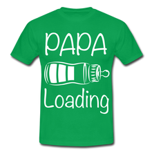 "Laden Sie das Bild in den Galerie-Viewer, T-Shirt ""Papa Loading"" - Kelly Green"