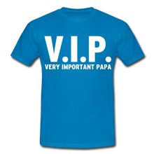 "Laden Sie das Bild in den Galerie-Viewer, T-Shirt ""V.I.P."" - Royalblau"
