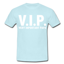 "Laden Sie das Bild in den Galerie-Viewer, T-Shirt ""V.I.P."" - Sky"