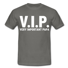 "Laden Sie das Bild in den Galerie-Viewer, T-Shirt ""V.I.P."" - Graphite"