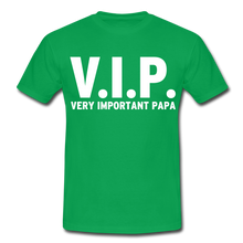 "Laden Sie das Bild in den Galerie-Viewer, T-Shirt ""V.I.P."" - Kelly Green"