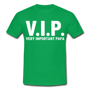 "T-Shirt ""V.I.P."" - Kelly Green"