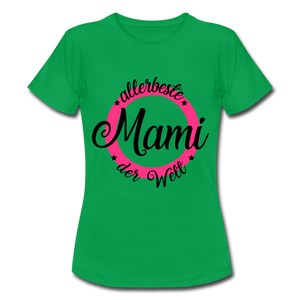 "T-Shirt ""allerbeste Mami"" - Kelly Green"