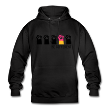 "Laden Sie das Bild in den Galerie-Viewer, Unisex Hoodie ""Be Different"" - Schwarz"