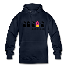 "Laden Sie das Bild in den Galerie-Viewer, Unisex Hoodie ""Be Different"" - Navy"