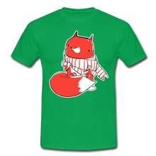 "Laden Sie das Bild in den Galerie-Viewer, T-Shirt ""Fuchs"" - Kelly Green"
